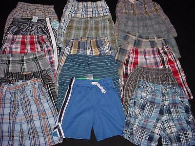 USED BABY TODDLER BOY 3T SHORT SHORTS SUMMER CLOTHES LOT FreeShipping