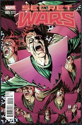 SECRET WARS #5 Molecule Man Variant Cover Marvel Comics