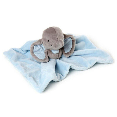 "Binky and Bubbles Blue Elephant Comforter Blankie Soft Plush Toy 9""/22cm NEW"