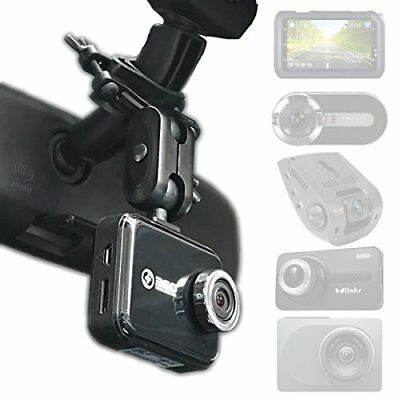 Dash Cam Mirror Mount - Fits Falcon F170HD,Rexing V1, Z-Edge, Old Shark, YI,