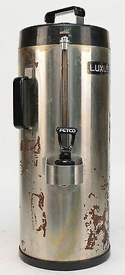 Fetco Luxus TPD-15 1.5 Gallon Hot/Cold Beverage Dispenser Stainless Steel