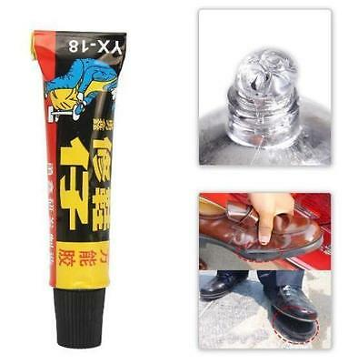 18ml Super Adhesive Repair Glue For Shoe Leather Rubber Canvas Tube Strong Bond~