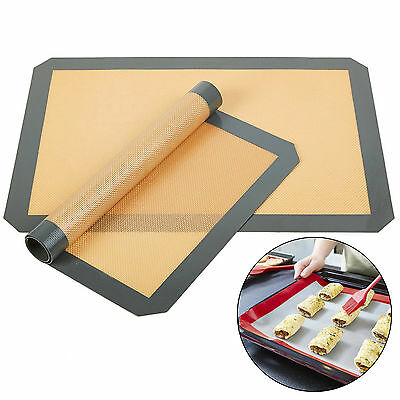 Silicone Dough Rolling Mat Baking Mat Pastry Clay Pad Sheet Liner Non-Stick Dish