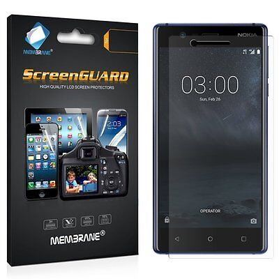 3 x Clear LCD Screen Protector Film Foil Saver For Nokia 3