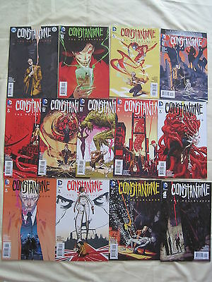 CONSTANTINE : COMPLETE 13 ISSUE DC 2015 HELLBLAZER SERIES by DOYLE & TYNION IV