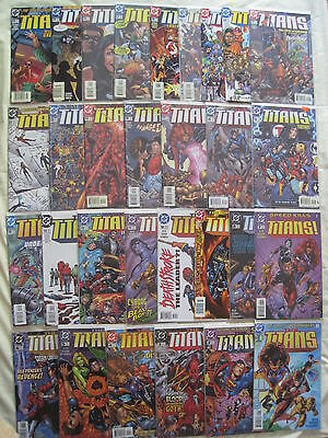 The (TEEN) TITANS, #s 1 - 43 COMPLETE of the 1999 DC SERIES by GRAYSON,KITSON et