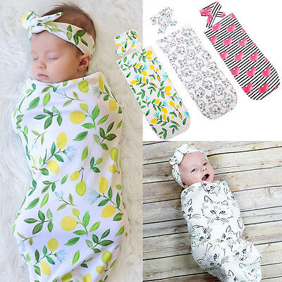 Organic Cotton Swaddle Muslin Blanket Newborn Baby Wrap Swaddling Blanket 0-12M