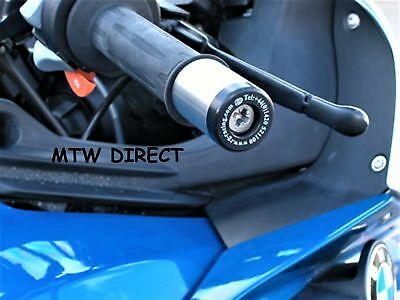 BMW K1300S 2014 R&G Racing Bar End Sliders BE0025BK