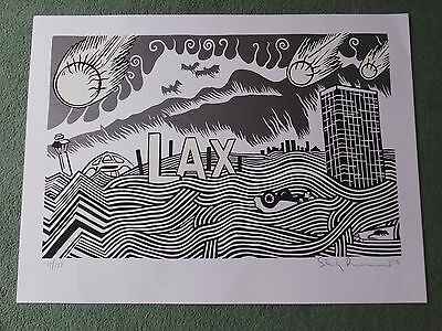 STANLEY DONWOOD - Lost Angeles(2012 LIMITED EDITION NUMBERED ART PRINT!!!)