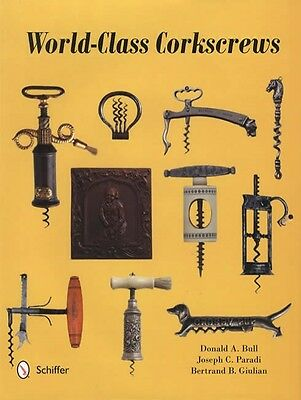 World Class Antique Corkscrews Huge Collector Reference 4,500 Shown Donald Bull