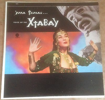 YMA SUMAC voice of the xtabay 1960's US CAPITOL RE EXOTICA VINYL LP