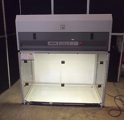 """Mystaire Ductless Fume Enclosure Model 4850~Powers Up-Works-48""""x28""""x51""""~S2889"""