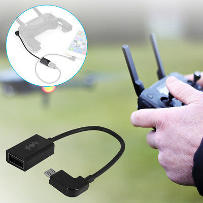 Micro USB to USB Adapter Cable for DJI Mavic Pro Spark Remote Controller RC611