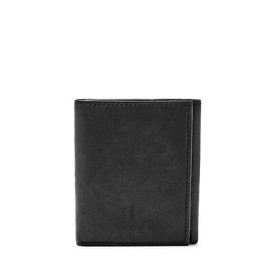 Fossil Men's Ingram Genuine Leather RFID Protected Slim Trifold Wallet