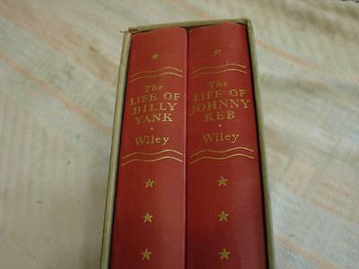The Life of billy Yank and Johnny Reb 2 vols boxed set