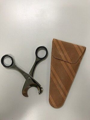 Cigar Cutter SCISSORS Stainless Steel