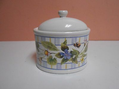 Marjolien Bastin Music Box Trinket Box with Cover Floral Design Bees