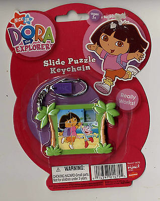 Dora the Explorer Slide Puzzle Keychain (New)- Nickelodeon