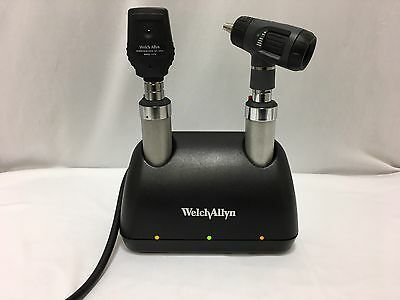 Welch Allyn Opthalmoscope & Macro Otoscope With Cradle (8234-1ADJ)