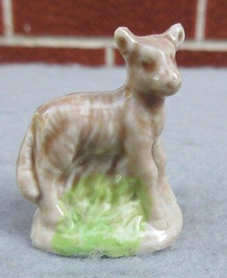 Wade Whimsie Lamb Porcelain Figurine Made In England Red Rose Tea