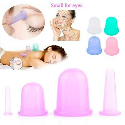 1 Set Silicone Anti Cellulite Massage Vacuum Therapy Body Facial Cups Cupping MT