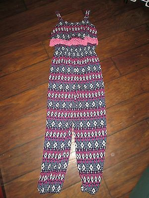 Lily Bleu size L(12) girls sleeveless pants romper EXCELLENT CONDITION!!!!!!!