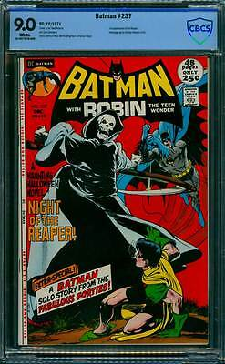 Batman # 237  Neal Adams Night of the Reaperl !  CBCS 9.0 scarce book !