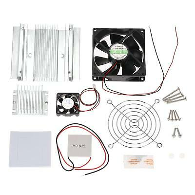 DIY Thermoelectric Peltier Refrigeration Cooling System Semiconductor Cooler Fan