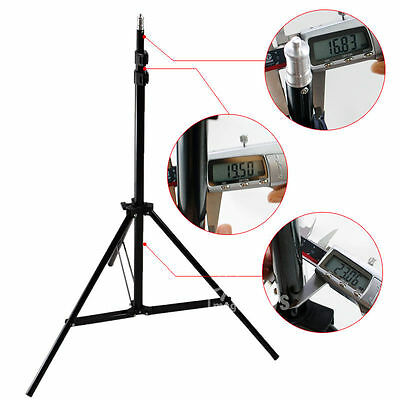 Photography Photo Studio 2.1m Light Stand Tripod Aluminum Heavy Duty Support x1