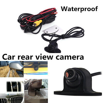 360° HD Rotatable Waterproof Car Front Side Rear View Backup Camera Parking Kit
