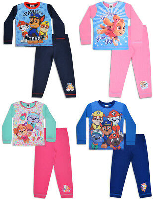Paw Patrol Pyjamas Kids Boys Girls Pjs
