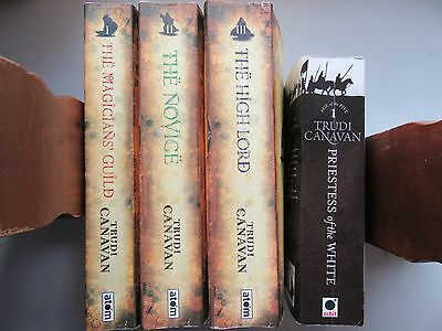 4 x Trudi Canavan Paperback Bundle/Collection (Black Magician/White Priestess)