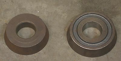 "Ammco 4778 & 4779  3-7/8"" to 5"" Centering Cone Adapter Set Brake Lathe 1-7/8"""