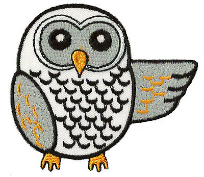 patch écusson ECUSSON blason patche Hibou Chouette thermocollant