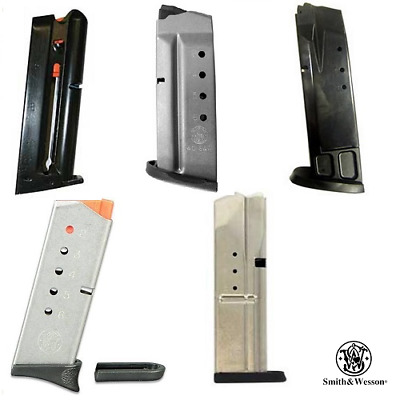 Smith & Wesson OEM Handgun Various Mags S&W Pistol Magazines 6 7 & 10 Rounds RDs