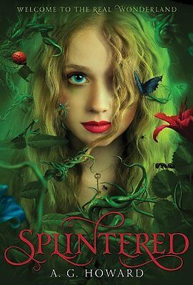 Complete Set Series - Lot of 3 Splintered books by A.G. Howard (Fantasy) YA
