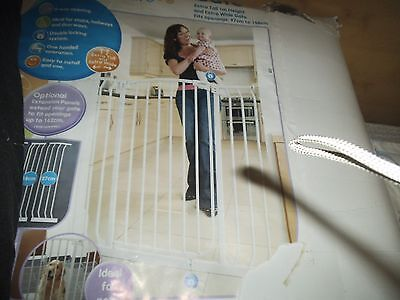 child/pet safety gate extra height and extra wide pressure fitted