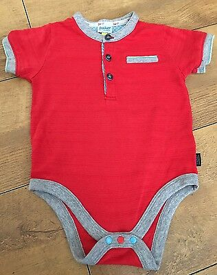 TED BAKER. Boys Polo Shirt / Bodysuit. Age 12-18mth. Excellent Condition.