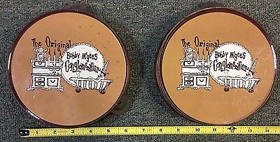 Original Bobby Mcgees Conglomeration Tambourine Lot (2) *none On E-Bay* 71917