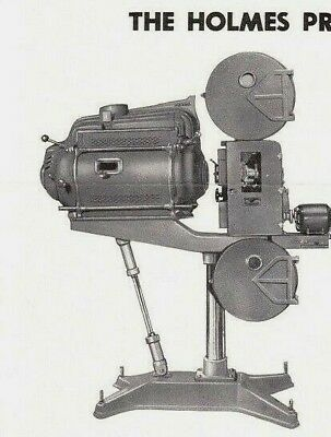 Holmes Portable 35mm Sound Motion Picture Projector Museum Quality