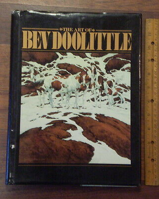 The Art of Bev Doolittle by Bev Doolittle (1990, Hardcover)