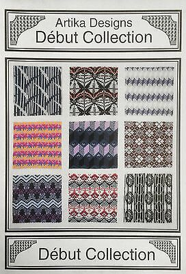 Machine Knitting Stitch Patterns: Artika Debut Collection