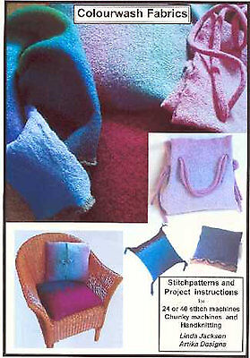 Machine Knitting Stitch Patterns: Artika Colourwash Fabrics Collection