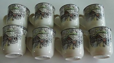 New Johnson Brothers The Friendly Village Mug Set Of 8