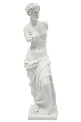 "15.5"" Nude Venus De Milo Aphrodite Goddess Statue Sculpture Made in Italy"
