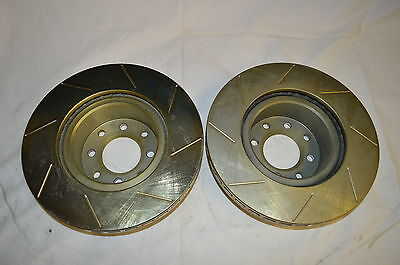 Holden Commodore 040 VT VX VY VX front slotted performance rotors RACE