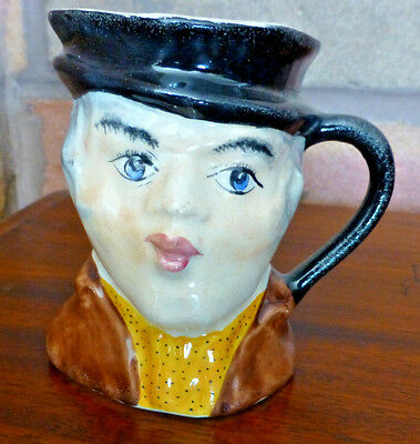 Small Old Staffordshire Character / Toby Jug very old example.
