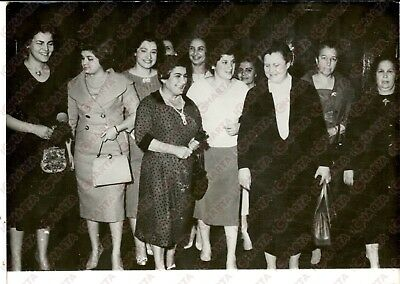 1959 DAMASCUS Russian women's delegation visits Syria - Photo 18x13 cm