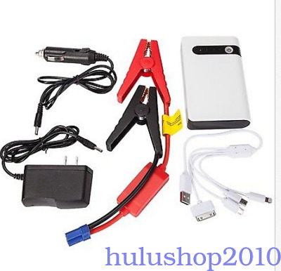 NEW Mini Slim 20000mAh Car Auto Jump Starter Engine Battery Charger Power Bank