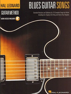Blues Guitar Songs Hal Leonard Method Gitarre Noten Tab mit Download Code